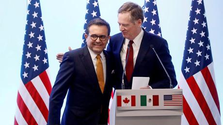 Trump annonce un accord bilatéral avec le Mexique en marge de la renégociation de l'Aléna