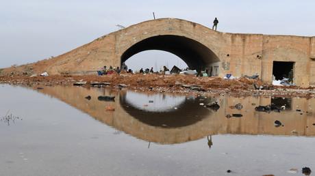 Idlib, Syrie, janvier 2018, (image d'illustration).