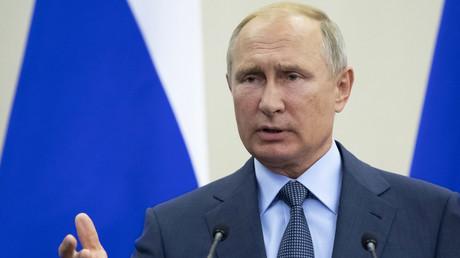 Le président russe Vladimir Poutine en août 2018 (image d'illustration).