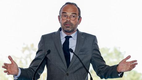 Edouard Philippe à l'université d'été du Medef à Jouy-en-Josas le 28 août 2018 (image d'illustration).