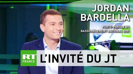 Jordan Bardella (RN) : «Macron incarne aujourd'hui, seul, une Union européenne technocratique»