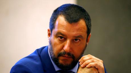 Le ministre de l'Intérieur italien Matteo Salvini, en juin 2018 (image d'illustration).