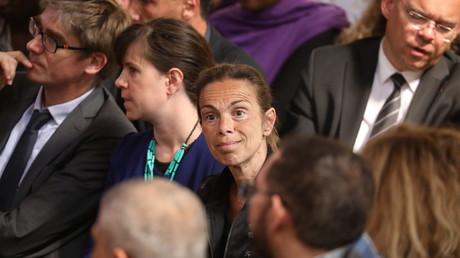 L'ancienne présidente de l'INA Agnès Saal, en mai 2018.