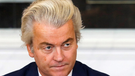 Le fondateur du Parti pour la liberté (PVV) Geert Wilders, en mars 2017 (image d'illustration).