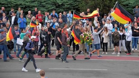 Manifestation à Chemnitz le 27 août 2018.