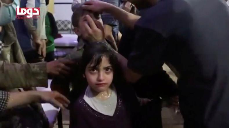 Selon Moscou, des images de mise en scène d'une attaque chimique auraient été filmées en Syrie