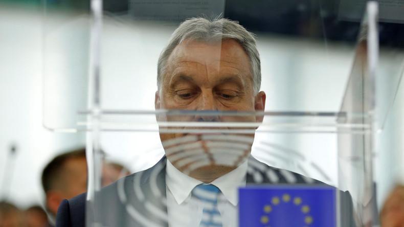 Article 7 : le Parlement européen adopte une motion punitive contre la Hongrie