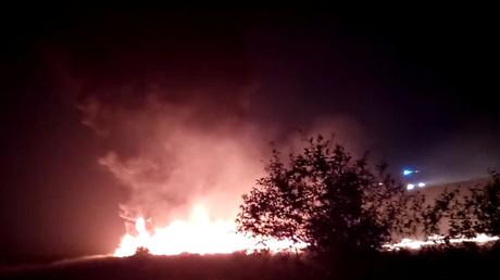 Sotchi : un avion loupe son atterrissage, perd une aile et prend feu, au moins 18 blessés (VIDEOS)