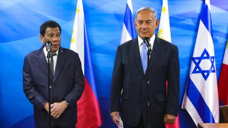 Rodrigo Duterte rencontre Benjamin Netanyahou