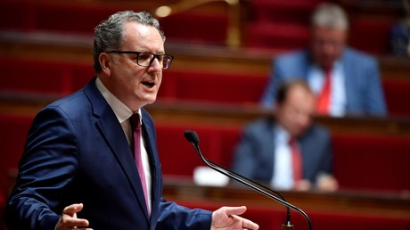 Richard Ferrand, favori pour présider l'Assemblée nationale, en juillet 2018. Il est visé par une enquête pour un montage financier immobilier.