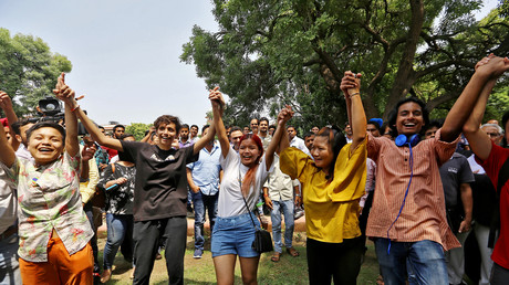 L'Inde dépénalise l'homosexualité