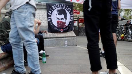 Manifestation de soutiens à Clément Méric (image d'illustration).