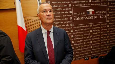Patrick Strzoda lors de son audition devant la commission d'enquête de l'Assemblée nationale le 24 juillet, illustration