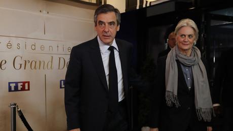 François Fillon et Pénélope Fillon le 20 mars 2017 (image d'illustration).