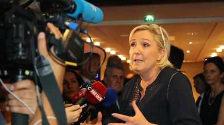 Marine Le Pen en juillet 2017.