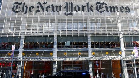 Le siège du New York Times, à New York le 22 novembre 2016 (image d'illustration).