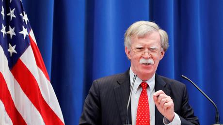 Le conseiller à la Sécurité nationale américain John Bolton