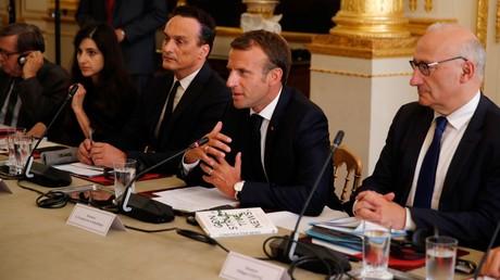 RSF veut un «pacte mondial» contre la désinformation... avec le soutien d'Emmanuel Macron
