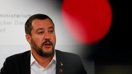 Le ministre de l'Intérieur italien Matteo Salvini, le 14 septembre 2018 (image d'illustration).