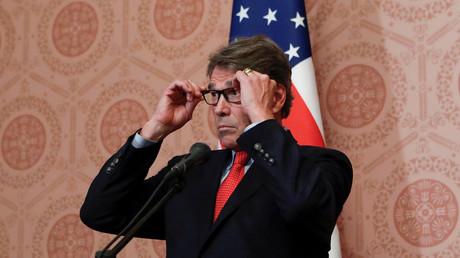 Rick Perry, le 13 septembre 2018 à Moscou.