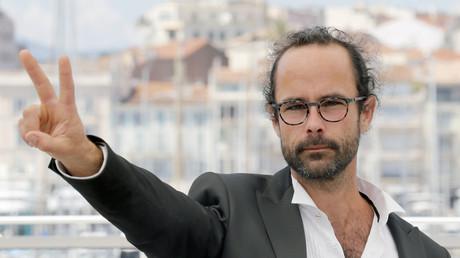 Cédric Herrou à Cannes en mai, (illustration).