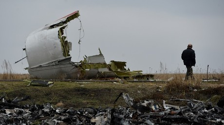 Des experts néerlandais sur le site du crash du vol MH17 en 2014 (image d'illustration).
