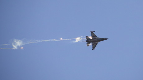 F-16 israélien (illustration). photo ©Baz Ratner / Reuters