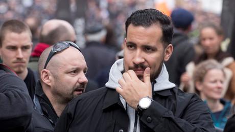 Alexandre Benalla devant Vincent Crase, à sa gauche, lors des manifestations du 1er mai 2018 (image d'illustration).