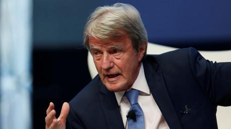 Bernard Kouchner lors d'une conférence au Portugal en mai 2017 (image d'illustration).