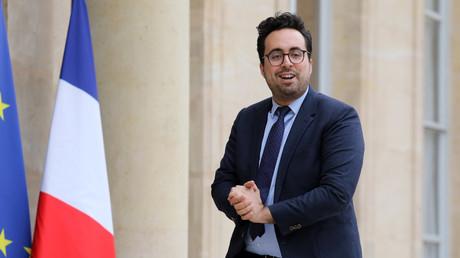 Le secrétaire d'Etat chargé du Numérique Mounir Majhoubi.