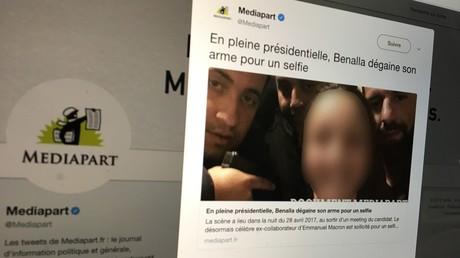 Capture d'écran Twitter @Mediapart, ©Mediapart