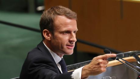 Emmanuel Macron à l'ONU le 25 septembre