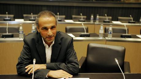 Tariq Ramadan en 2009 à l'Assemblée nationale à Paris.