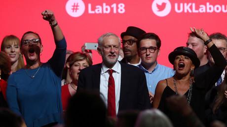 «Nous reconnaîtrons un Etat palestinien», promet le leader travailliste Jeremy Corbyn (VIDEO)