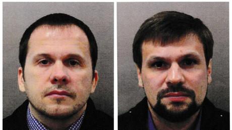 Selon Bellingcat, Ruslan Boshirov (à droite) serait en fait un colonel du nom de Anatoli Tchepiga. Une information que Moscou dément.