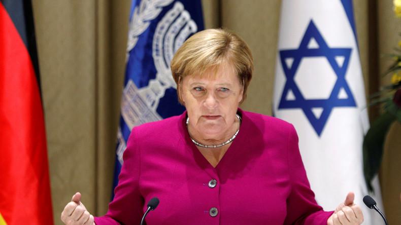 Antisémitisme : Merkel en visite à Jérusalem reconnaît «la responsabilité perpétuelle» de son pays