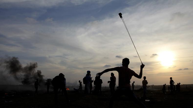 Gaza : trois Palestiniens tués par des tirs israéliens lors d'affrontements le long de la frontière