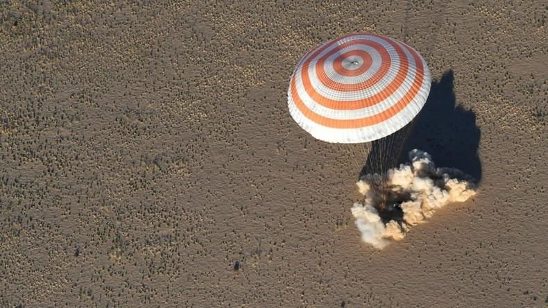 ISS : l'équipage indemne après l'atterrissage d'urgence de la fusée Soyouz