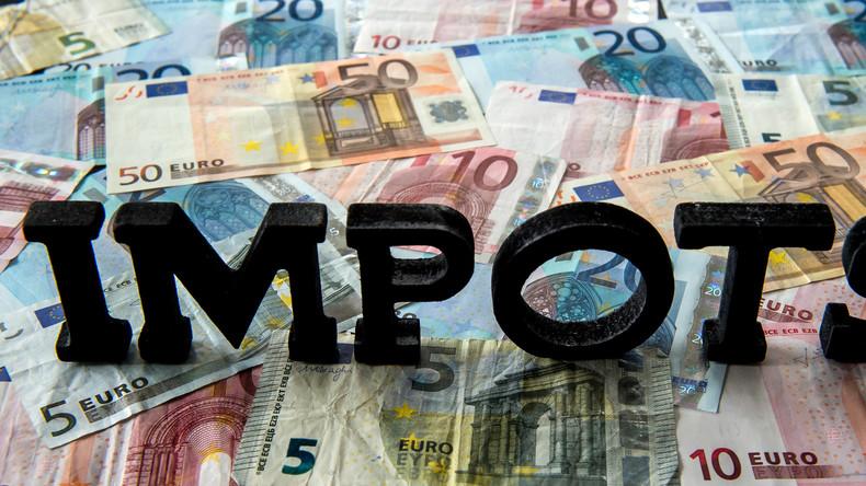 Impôts et cotisations en France dépassent pour la première fois 1 000 milliards d'euros par an 14 oc 5bc2e67809fac2be098b456a