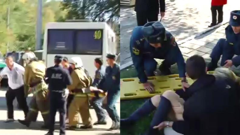 Au moins 19 morts et 40 blessés lors d'une explosion dans un institut en Crimée (VIDEO)