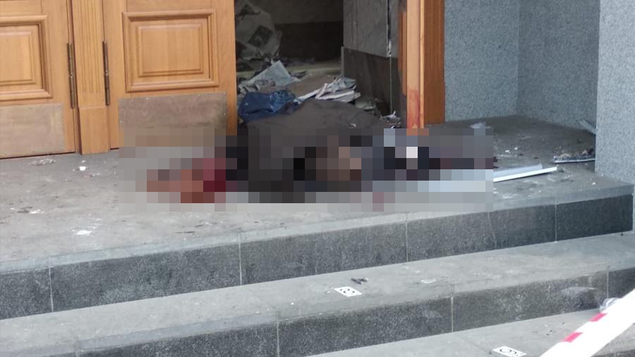 Les premières images après l'attentat qui a touché un bureau du FSB dans le nord de la Russie