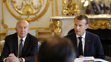 Gérard Collomb a présenté sa démission à Emmanuel Macron qui l'a refusée