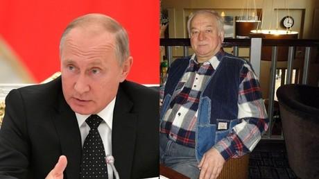 Sergueï Skripal est un «traître à la patrie» doublé d'une «ordure», selon Vladimir Poutine