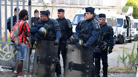 Marseille : évacuation d'un squat qui aurait hébergé jusqu'à 200 migrants