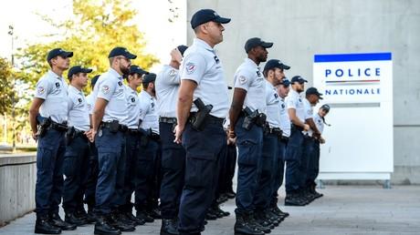 Des policiers attendent leur ministre en visite, à Lille, septembre 2018, (image d'illustration).