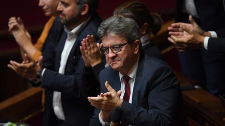 Jean-Luc Mélenchon est vent debout contre la loi contre la manipulation de l'information.