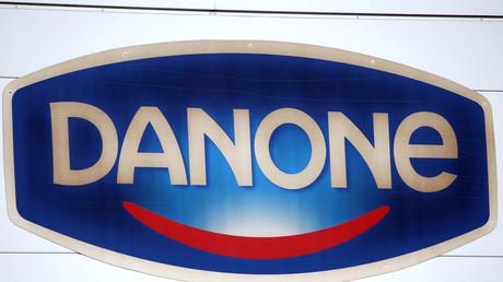 Logo de Danone.