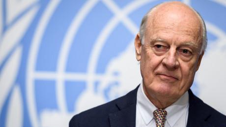 L'émissaire de l'ONU pour la Syrie a annoncé sa démission le 17 octobre 2018.