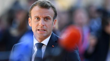 Le président français Emmanuel Macron, le 20 septembre 2018 (image d'illustration).