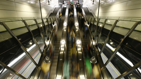 Accident d'escalator dans le métro de Rome : un moment effrayant filmé par des témoins